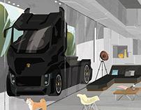Truck lofts