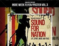 Indie Week Flyer / Poster Vol.3