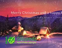 Oilseeds Chrismas Greetings card