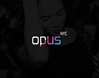 opus NYC // Logo Design