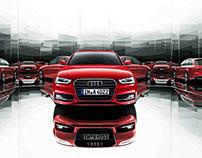Audi A4 S line selection
