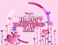 TOGGLE Valentine's Day