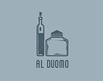 LOGO x OSTERIA AL DUOMO | at the Dome tavern