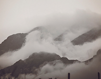 In the clouds - Organ Mountains