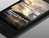Concept Design For Travel App