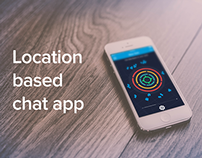 Location based chat app