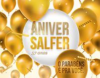 Aniversário Lojas Salfer - Aniversalfer