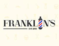 Franklin's Barbershop (Concept Logos)