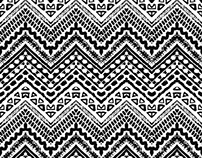 Tribal textured pattern