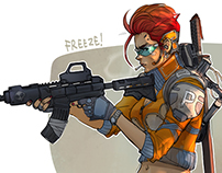 Lunch Sketches -Character part2-