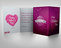 Mother Day Greeting Card Template
