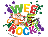 WEE Rock Schedule flyer