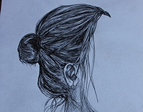 Sketchbook Portraits of Depression