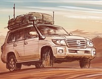 Toyota Landcruiser - TV Commercial