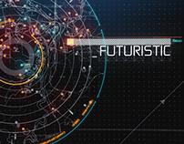 Hi-Tech HUD Logo Reveal