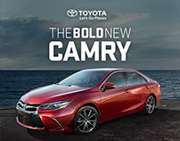Toyota Camry Ad Campaign