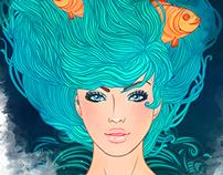 Zodiac Girl's faces