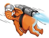 Jumbo mascot