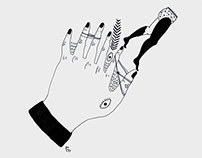The sinner's hand