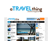 A Travel Thing - Online Magazine Website