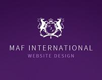 MAF International Website