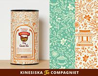 Kinesiska Te Compagniet (label / package design)
