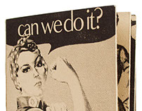 CAN WE DO IT   Experimental Lithograph