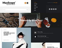Max Scope - Business Blog & Portfolio