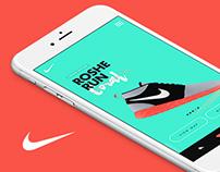 Nike - Roshe Run App