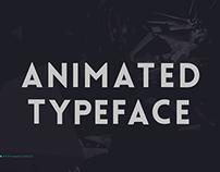Animated Typeface Lovelo