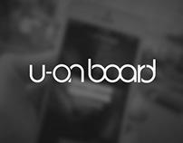 u-on board | App
