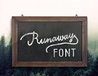 Runaway Font (Free)