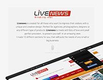 Creative Newspaper Web Design