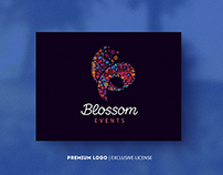 Blossom Events $525-Premium Logo