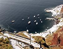 En route... Santorini, Greece