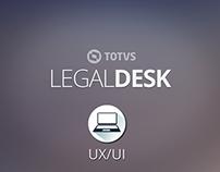 UX/UI: TOTVS   LegalDesk - Módulo Timesheet