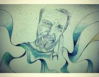yvan illustration portrait : FUNNY FACE