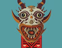 Diablico Sucio Mask III