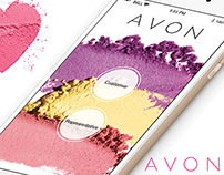 Avon Mobile Application Design