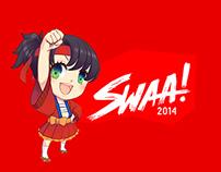 """Evento Cultural Japonés """"Swaa!"""" 2014"""