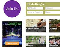 Website Design for APLD