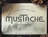Mustache University Typeface