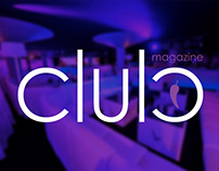 Club Magazine corporative elements & guidelines