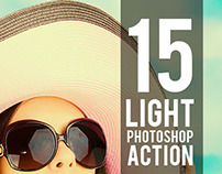 15 Light Photoshop Actions / Graphicriver