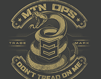 Don't Tread on Me Tee Design - MTN OPS