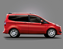 FORD TOURNEO COURIER RETOUCH