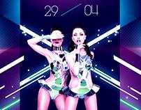 In Da Club Party Flyer