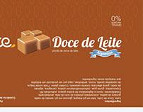 Embalagem Picolé Doce de Leite