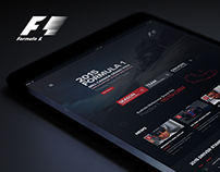F1 Web Site Redesign