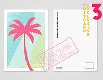 Exclusive postcards of California